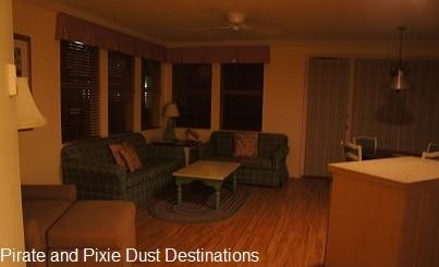 Disney's Old Key West 2 Bedroom Living Room