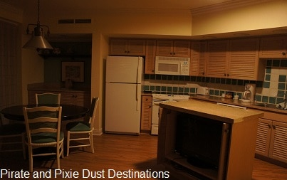 Disney's Old Key West Full Kitchen