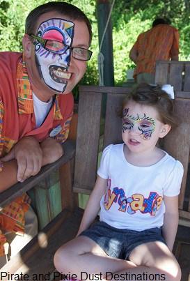 Face Painting at Disney
