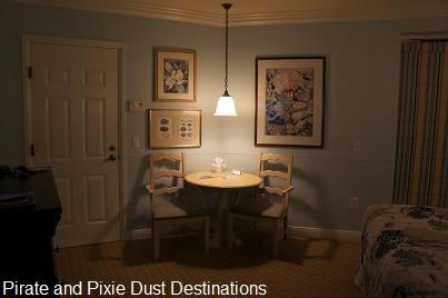 Disney's Old Key West sitting area