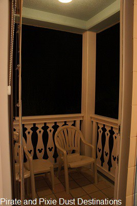 Disney's Old Key West Private Balcony