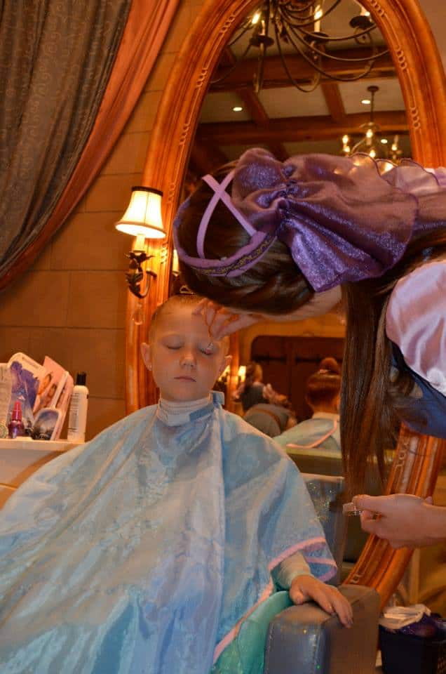 Bibbidi Bobbidi Boutique Princess Makeovers