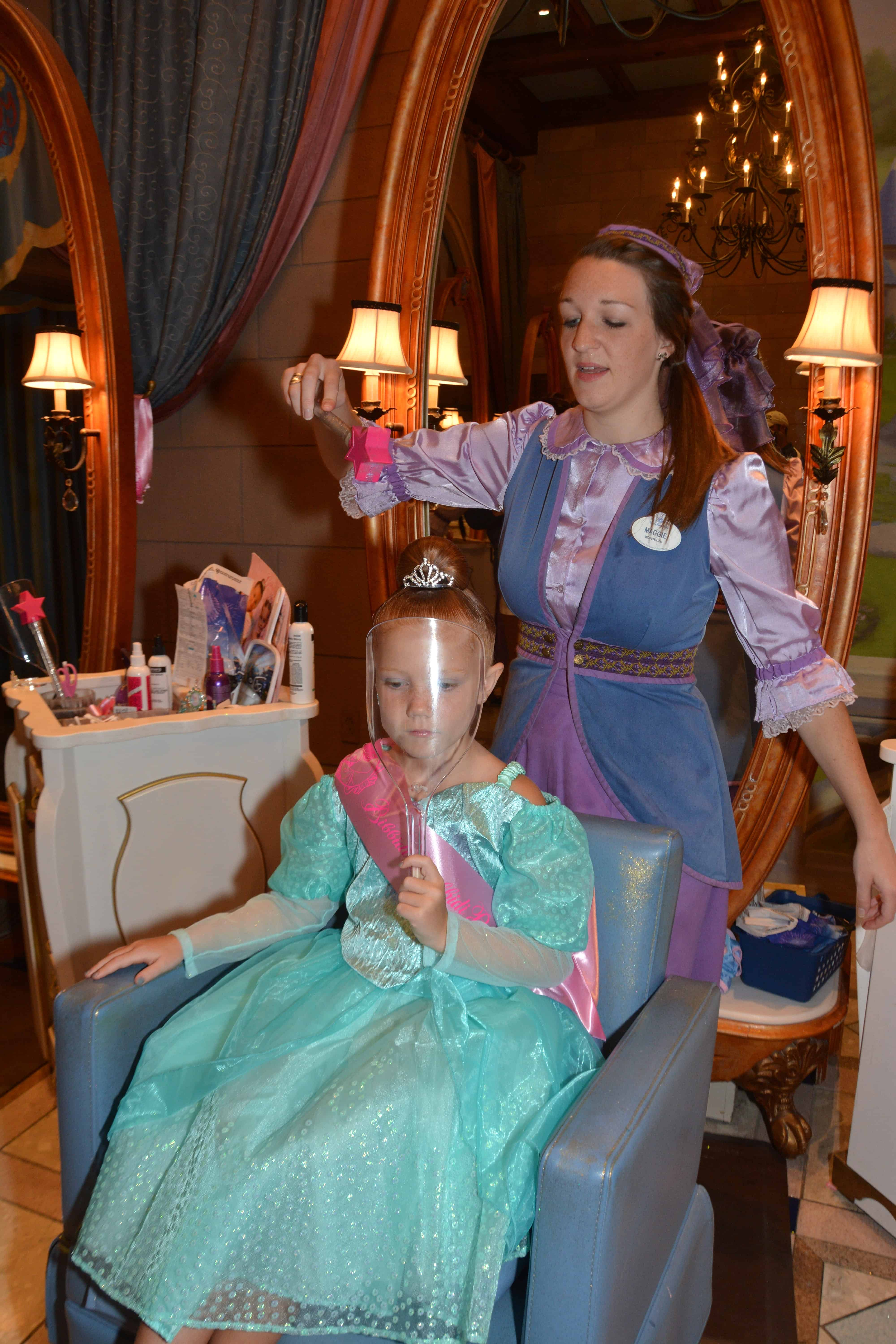 Bibbidi bobbidi boutique princess makeovers for World boutique