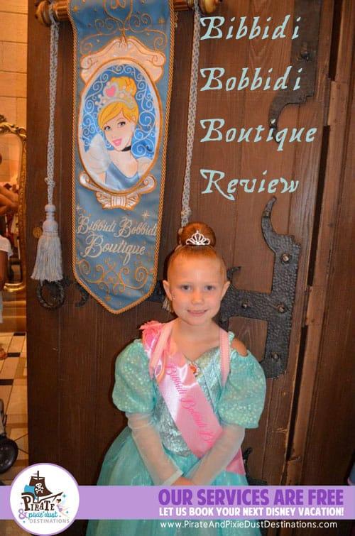 Bibbidi Bobbidi Boutique Princess Makeovers