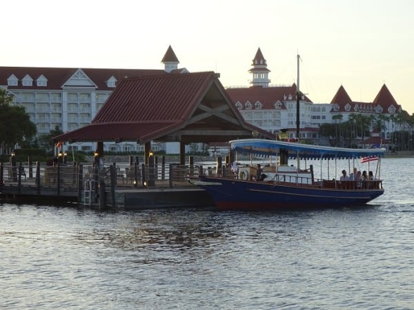 Dock for the Magic Kingdom Ferry