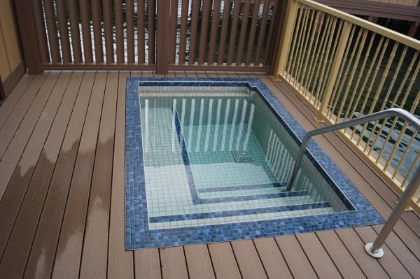 your very own plunge pool on your private balcony!