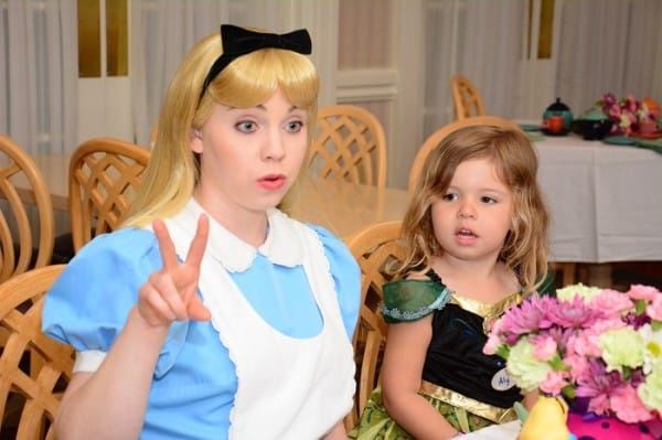 My daughter was completely captivated by Alice