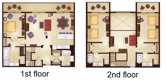 Disney s animal kingdom lodge Animal kingdom lodge villas 2 bedroom