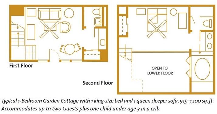 1 bedroom garden cottage