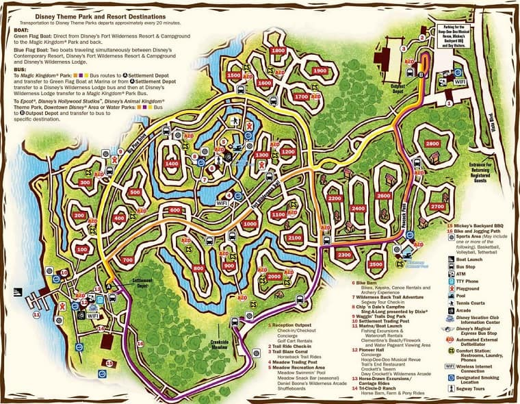 fort wilderness full hookup loops Disney's fort wilderness 2016 rates full hookup loops 1600-1900, one rv plus  one tent in the sandy area preferred loops 100-300, located.