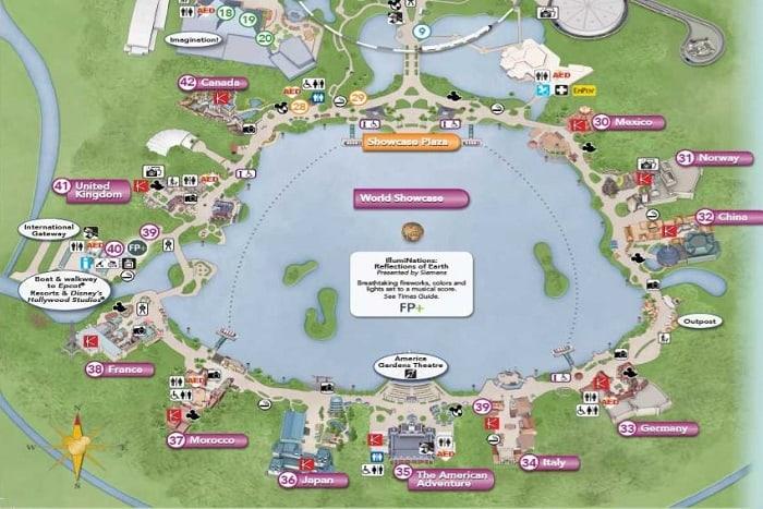 world showcase map