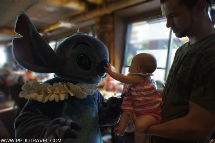 meeting Stitch again a few months later