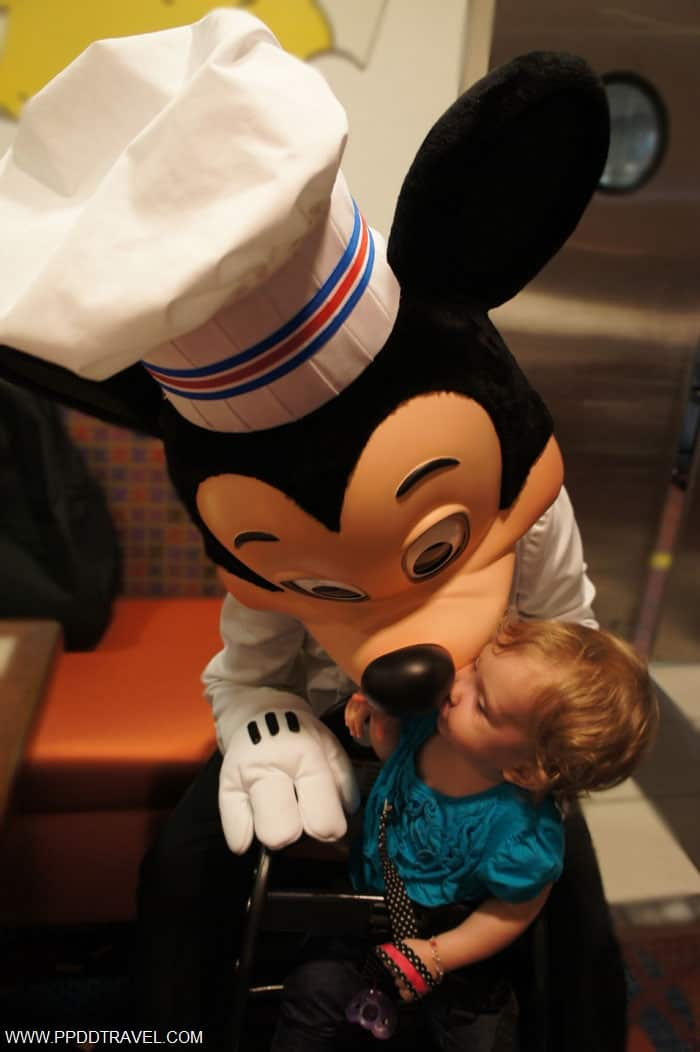 kisses from Mickey